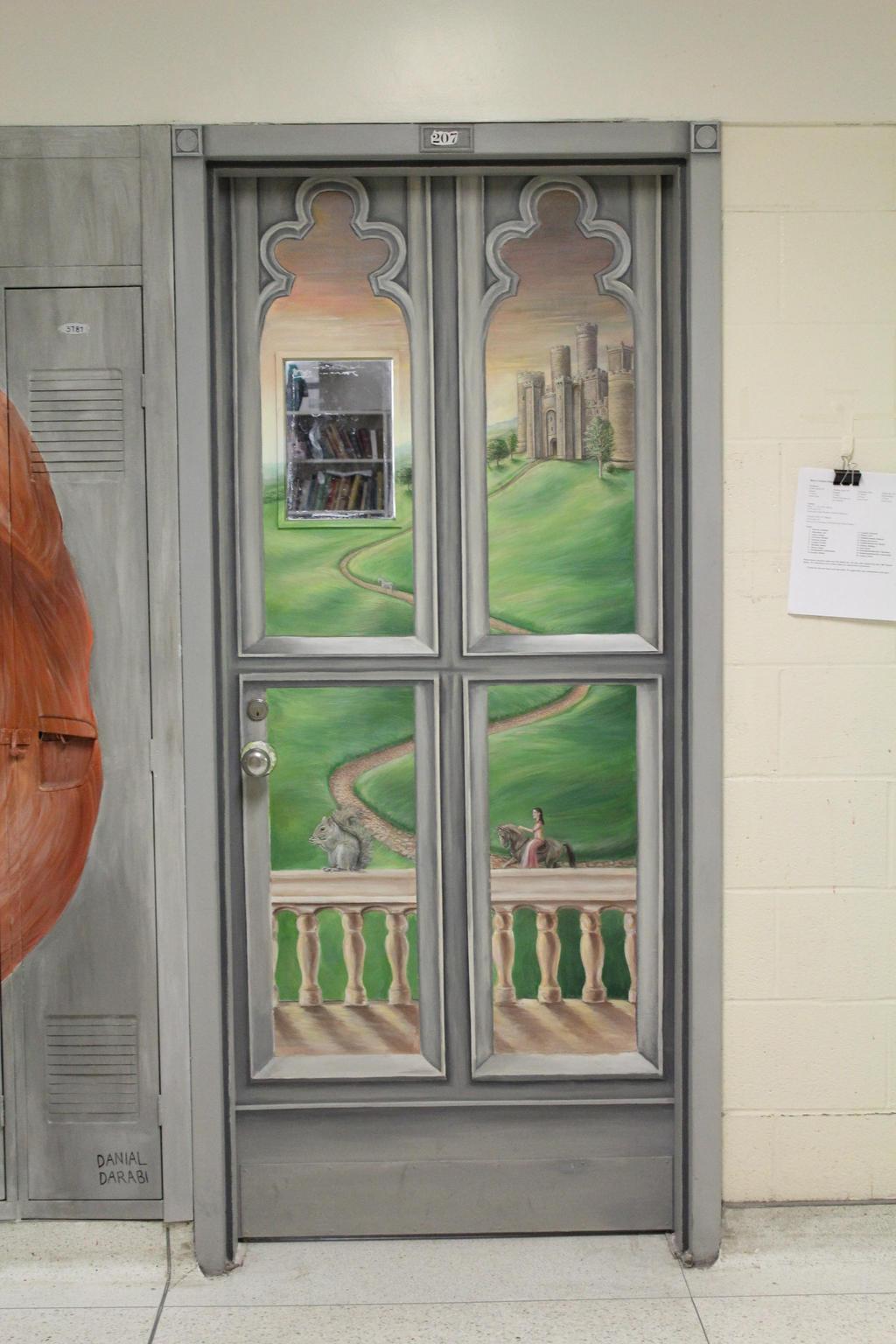 Castle Door Painting by Mimitchki Castle Door Painting by Mimitchki & Castle Door Painting by Mimitchki on DeviantArt