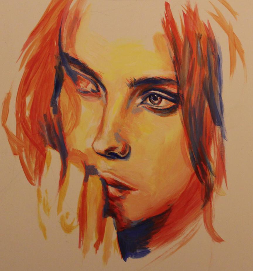 Colourful Girl Speedpainting by Mimitchki