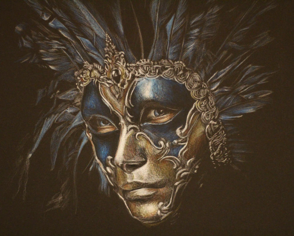 Carnevale Di Venezia Mask by Mimitchki