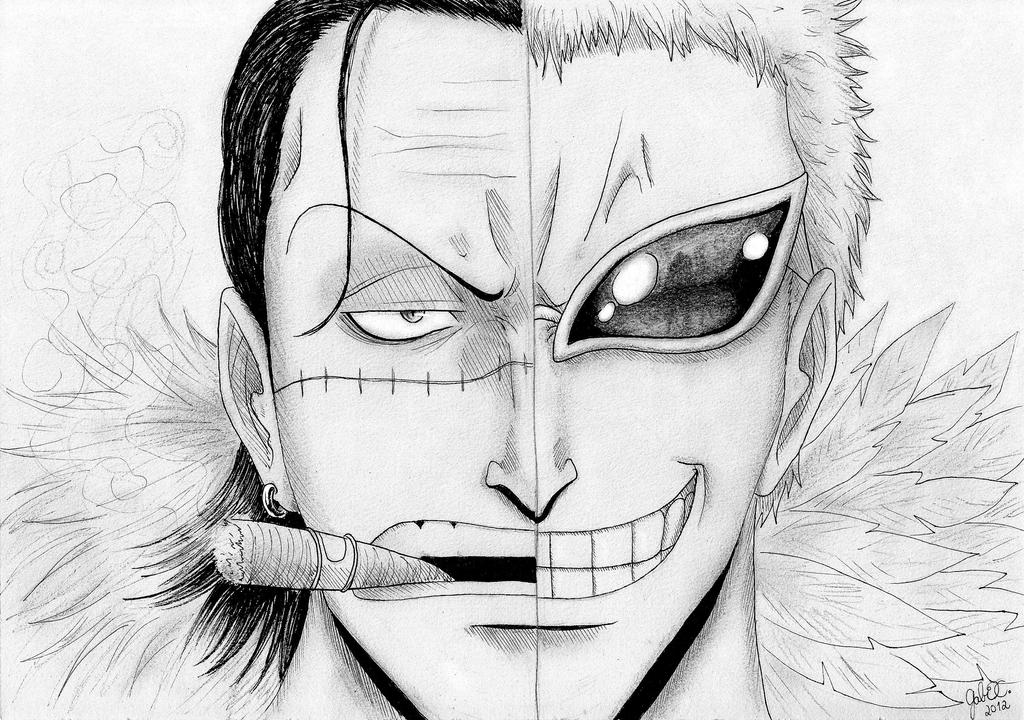 One piece la donquichotte family fc doflamingo for One piece dibujos