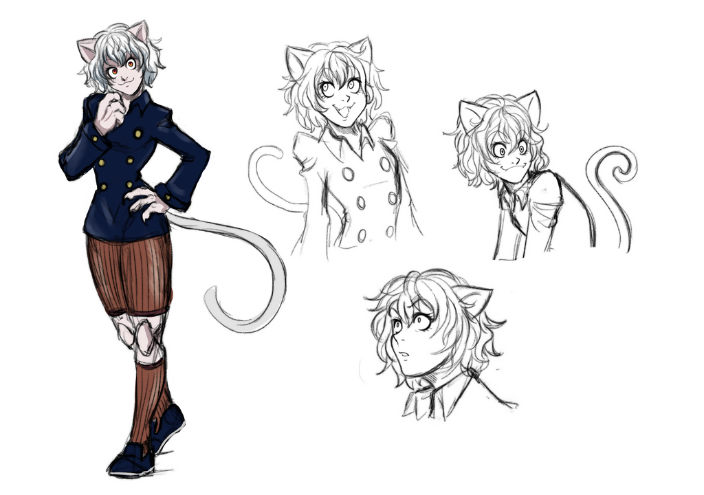 Neferpitou sketches by Gbtz007