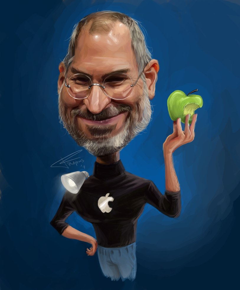 Steve Jobs by TomRutjens