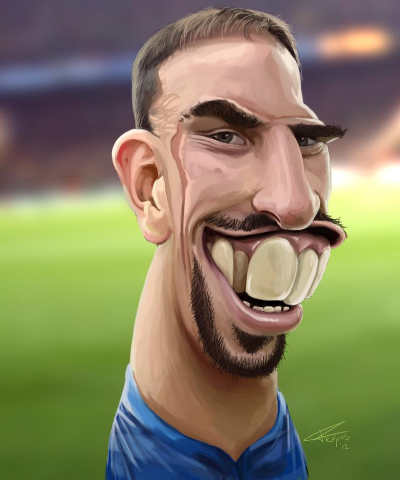 Franck Ribery by TomRutjens