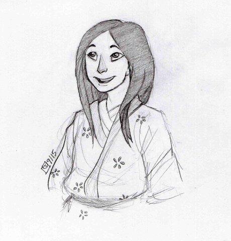 Princess Kaguya. by Punkn13
