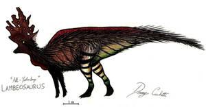 All-Yestered Lambeosaurus by Dennonyx