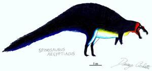 Penguin Spinosaurus by Dennonyx