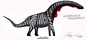 Zebrine Overosaurus by Dennonyx