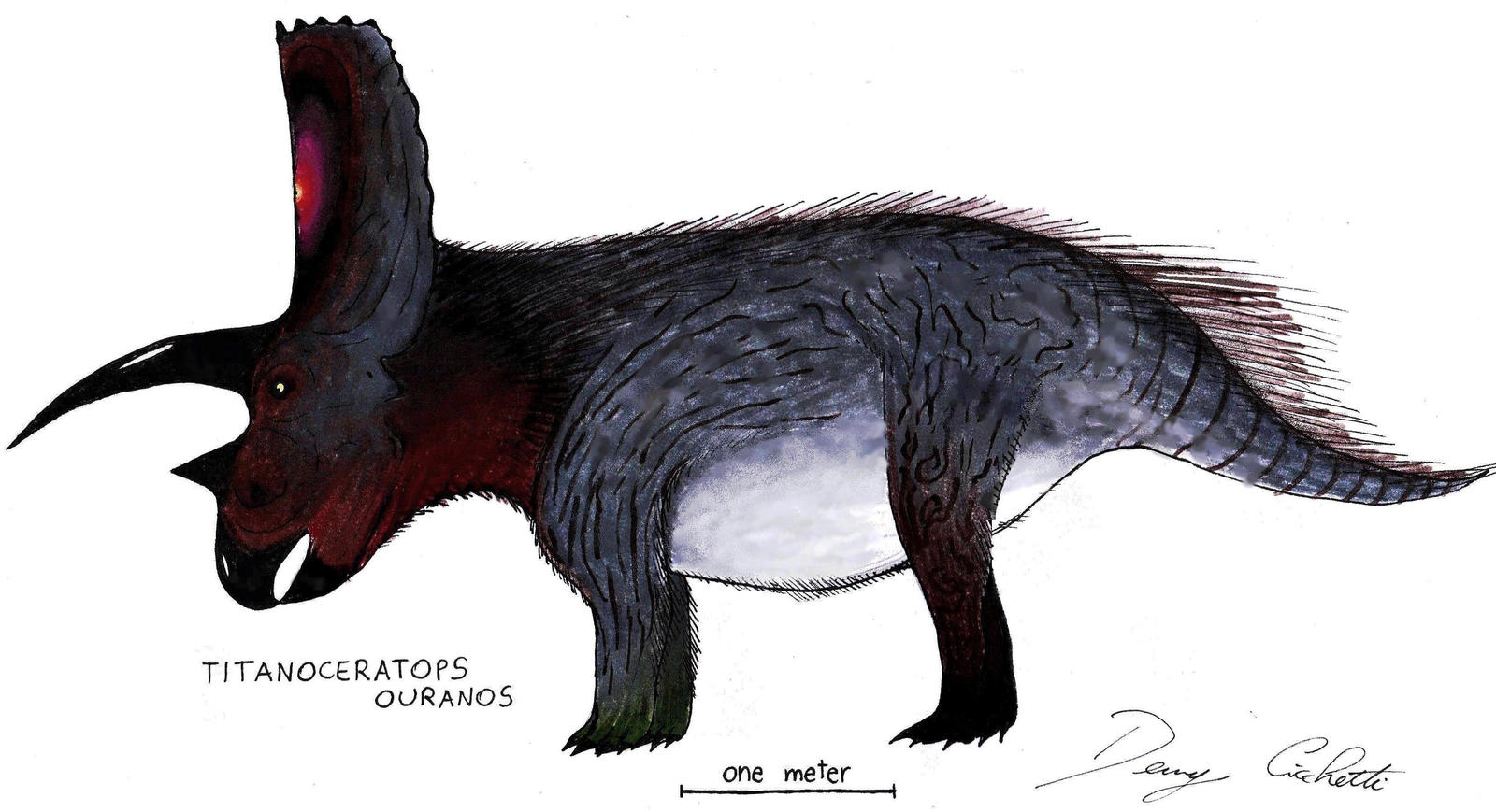 Titanoceratops by Dennonyx