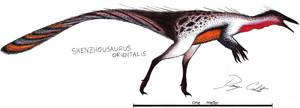 Shenzhousaurus by Dennonyx