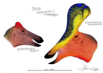 2013 Hadrosaurid's Makeover by Dennonyx