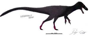 Pigeon Eotyrannus by Dennonyx