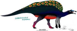Peacock Ouranosaurus by Dennonyx