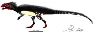 Hybrid Dilophosaurid... by Dennonyx