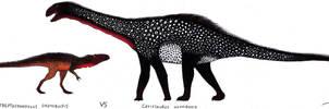 Eustreptospondylus VS Cetiosaurus