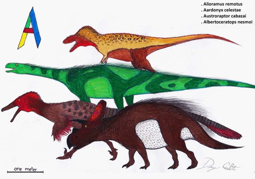 Letter Dinosaurs