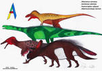 The Dinosaur Alphabet: A