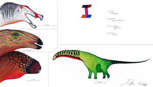 The Dinosaur Alphabet: I