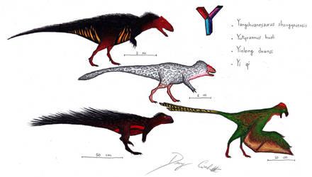 The Dinosaur Alphabet: Y by Dennonyx