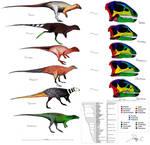 Hypsilophodontidae Evolution / Skull Comparison