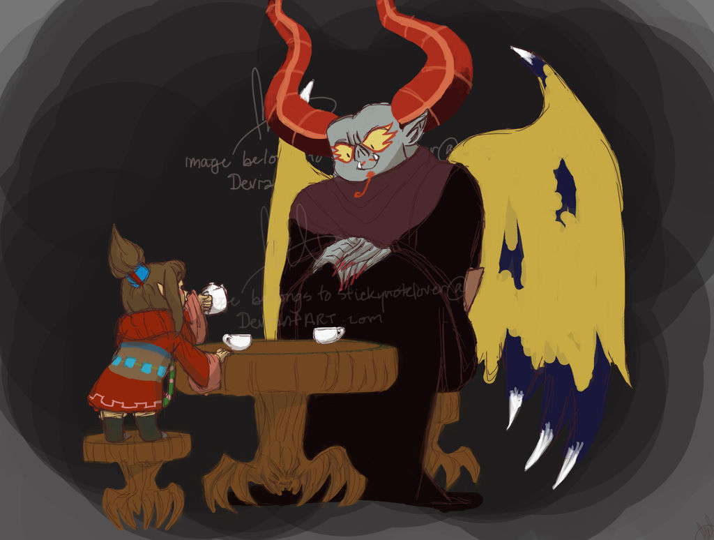SS - Tea Party With Uncle Bats