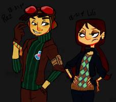 Adult Raz and Lili