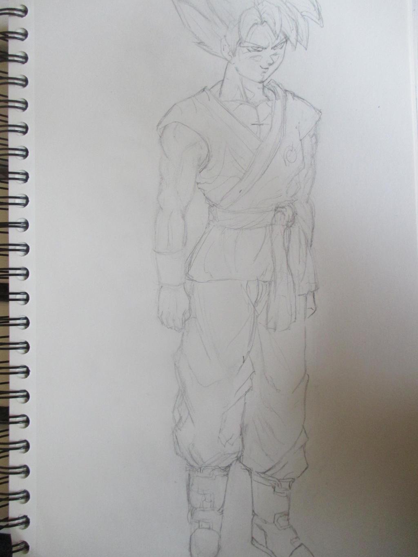 Sangoku super saiyan god super saiyan ssgss 3 by nekojika - Sangoku super saiyan god ...