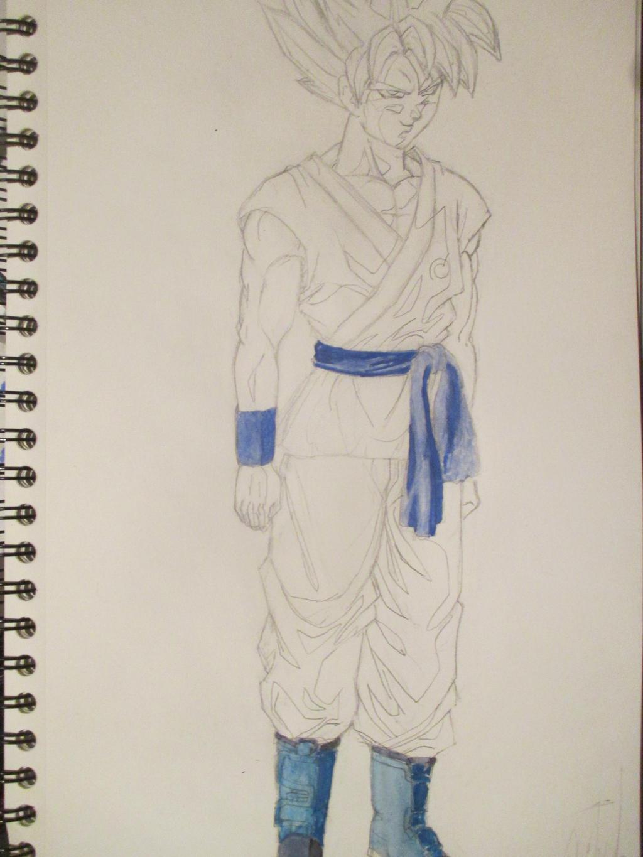 Sangoku super saiyan god super saiyan ssgss 4 by nekojika - Sangoku super saiyan god ...