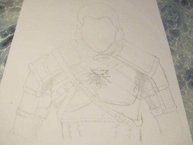 Geralt de Riv by Nekojika