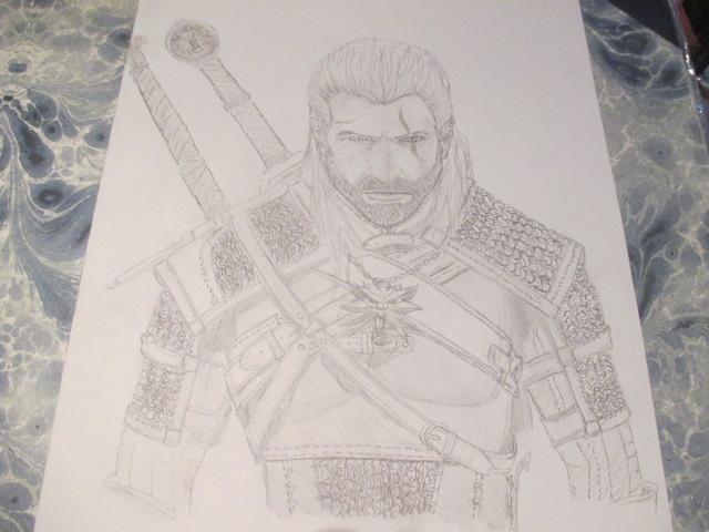 Geralt de Riv 2 by Nekojika