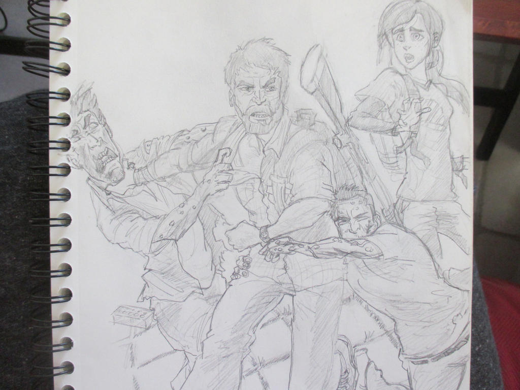 The art of The Last of Us by Nekojika
