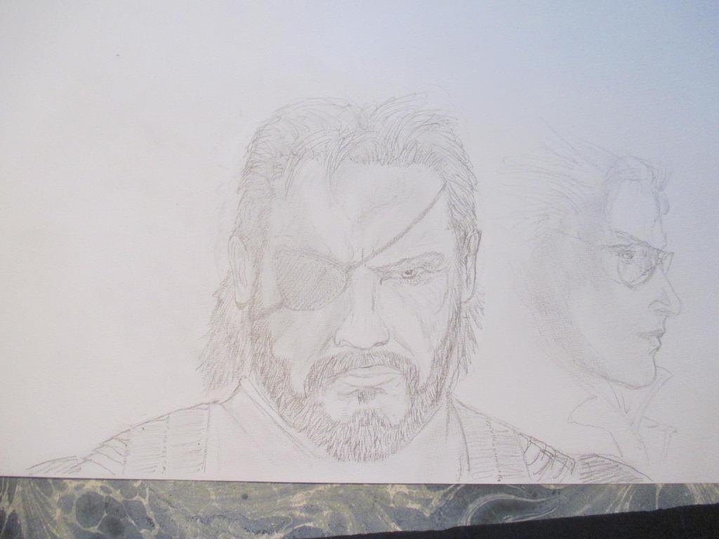 Metal Gear Solid 1 by Nekojika
