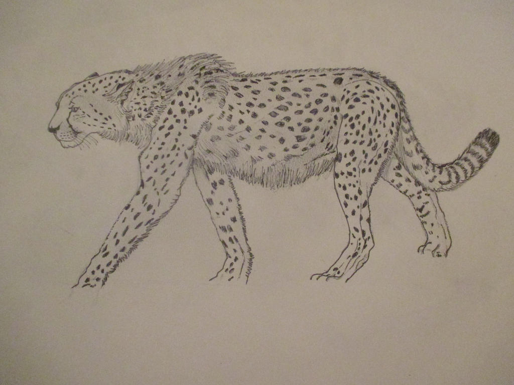 Prehistoric pantheraa 3 by Nekojika