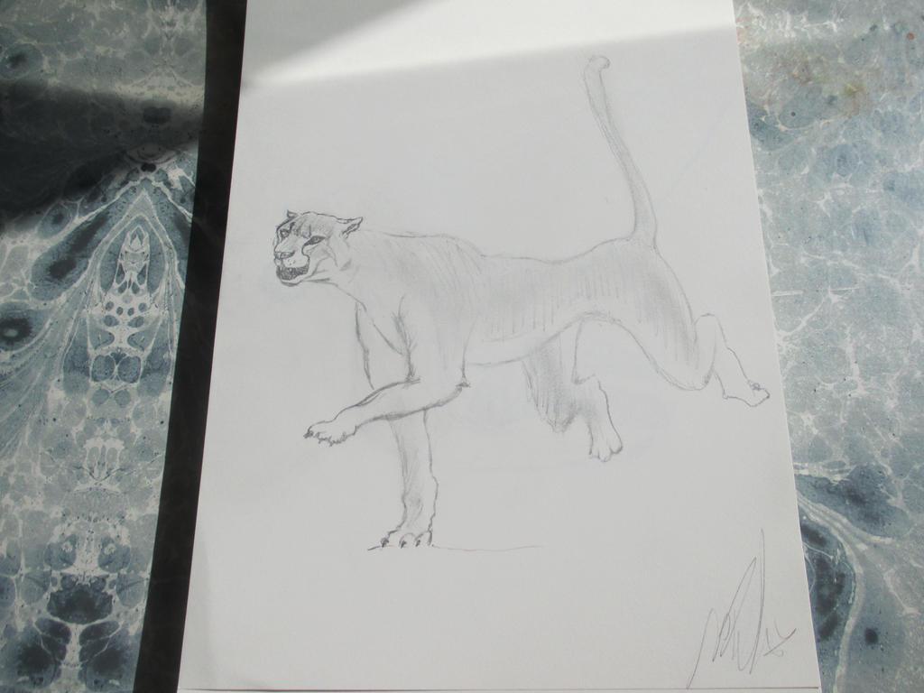 Prehistoric pantheraa 4 by Nekojika