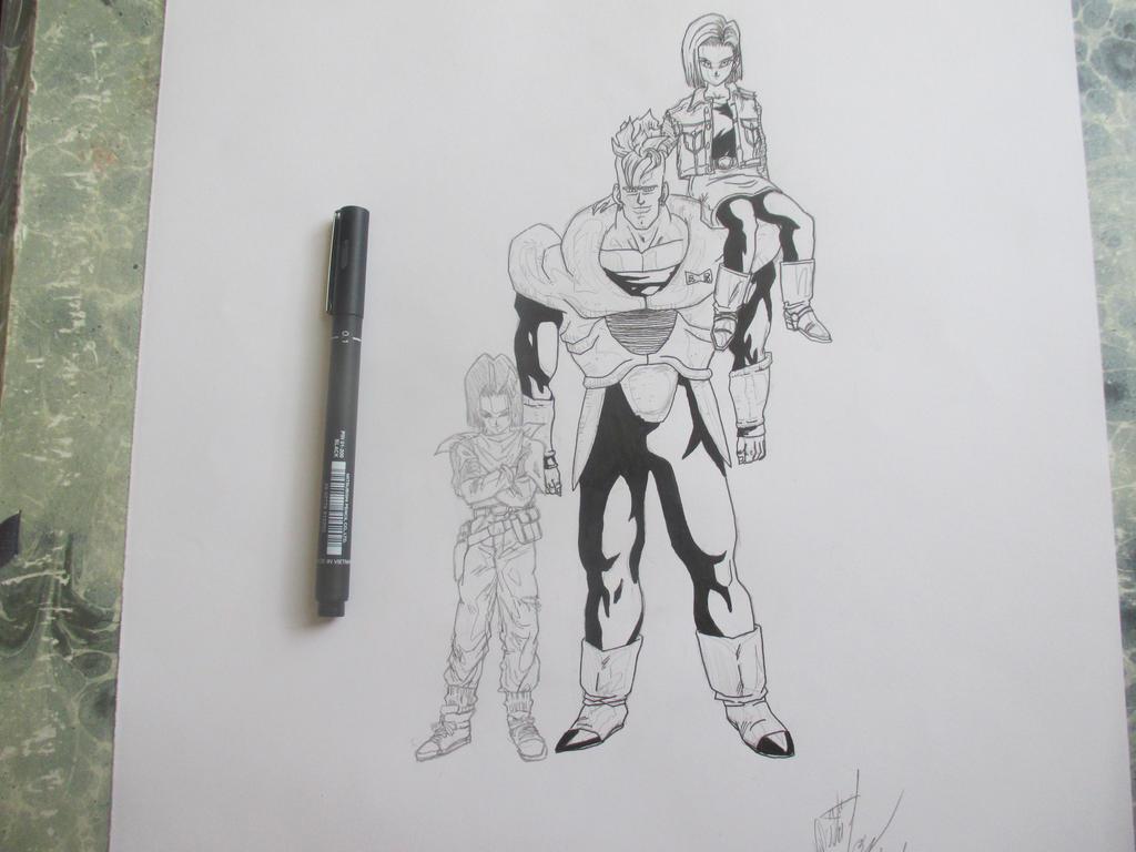 Cyborgs 6 by Nekojika