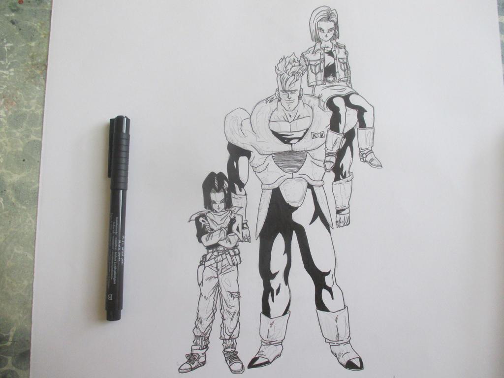 Cyborgs 7 by Nekojika