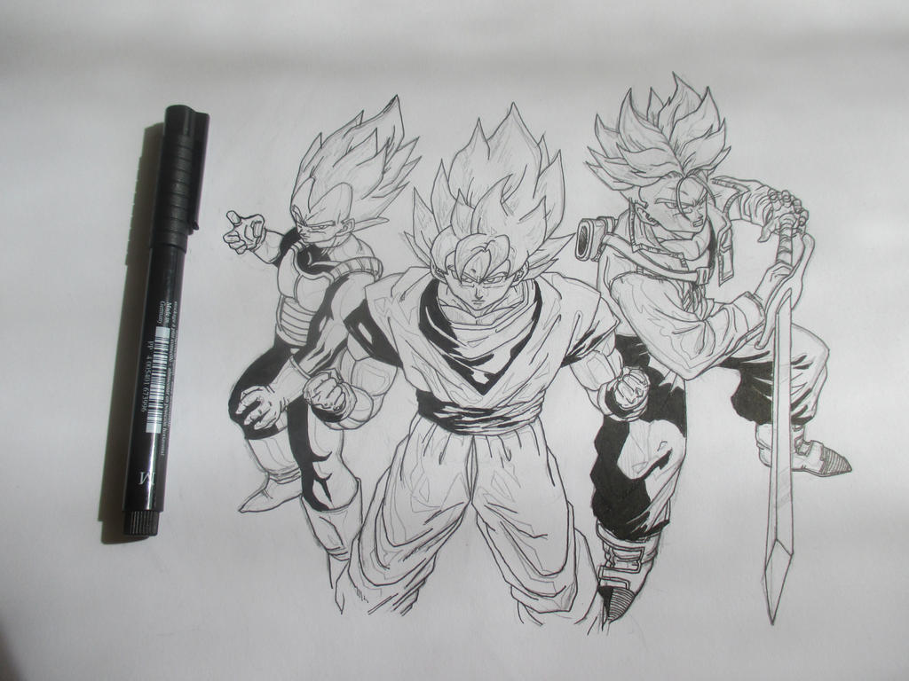 Super Saiyans 6 by Nekojika