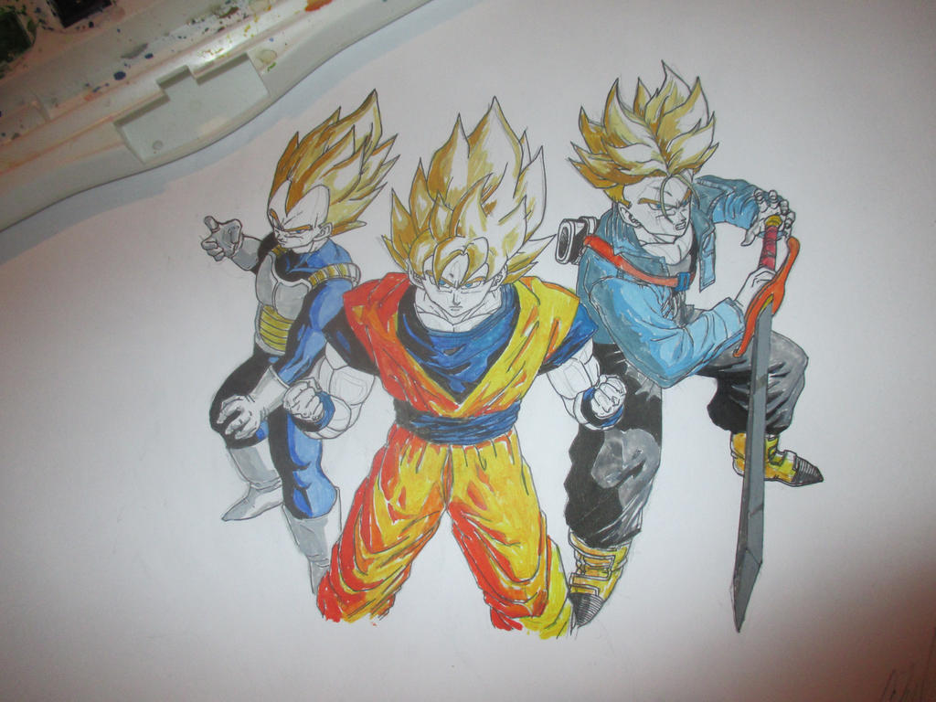 Super Saiyans 9 by Nekojika