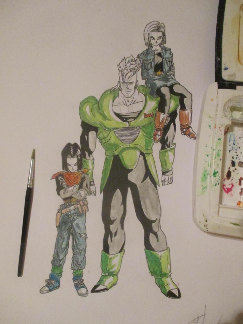 Cyborgs 8 by Nekojika