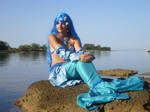 Blue Mermaid Princess