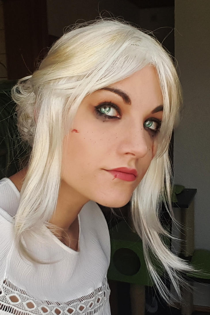 Ciri make up test by Stunt-Sheep