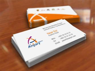 anjar business card