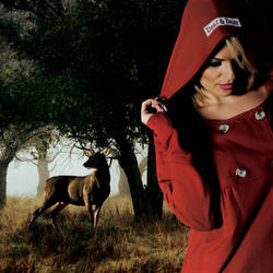 Deer Girl by YASERGRAFIX