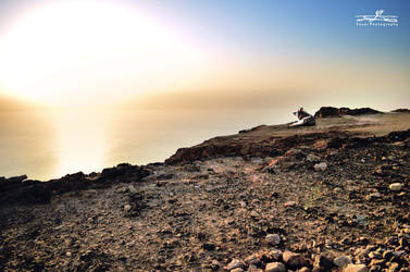 dead sea  lowest area in the world by YASERGRAFIX