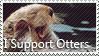 Otter Stamp by Mister-Pancake
