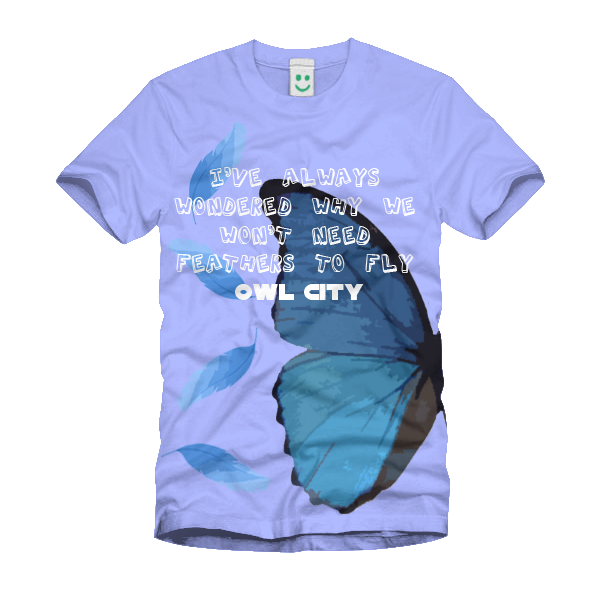Butterfly Wings Tee by DaSimsFreak