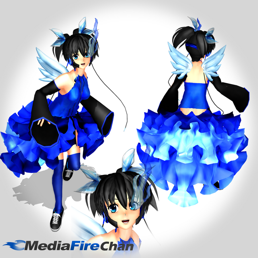 .:MOTHME:. MediaFire-Chan by Mister-Pancake