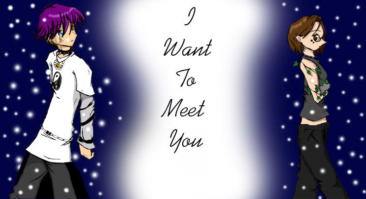 I want to meet you' by foomy on DeviantArt