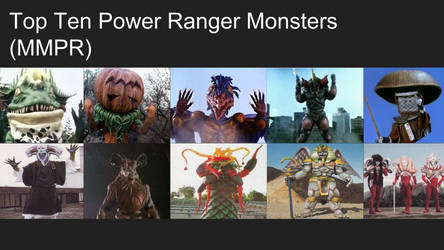 Top 10 Monsters from Mighty Morphin' Power Rangers