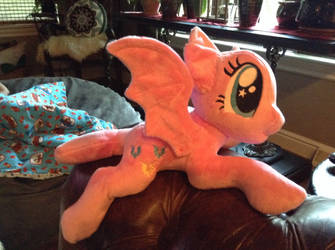 WIP pinkie bat by Littlestplushoppe