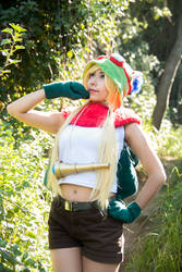 My Teemo cosplay! by YuniCos